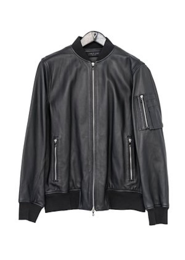 XXL RAG & BONE LEATHER JACKET - RAG-LJKT01""