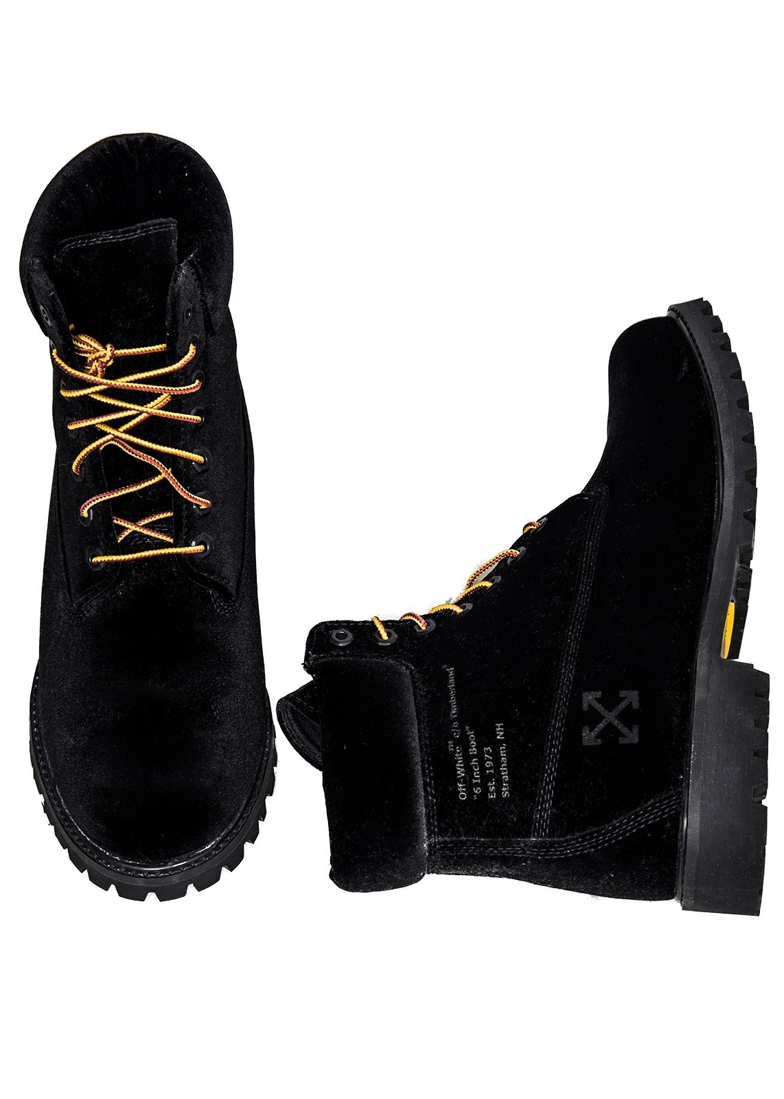"12 OFF WHITE X TIMBERLAND BOOT ""OFFWHITE-BOOT01"""