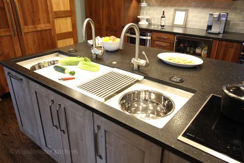 Kitchen design with Galley Workstation.