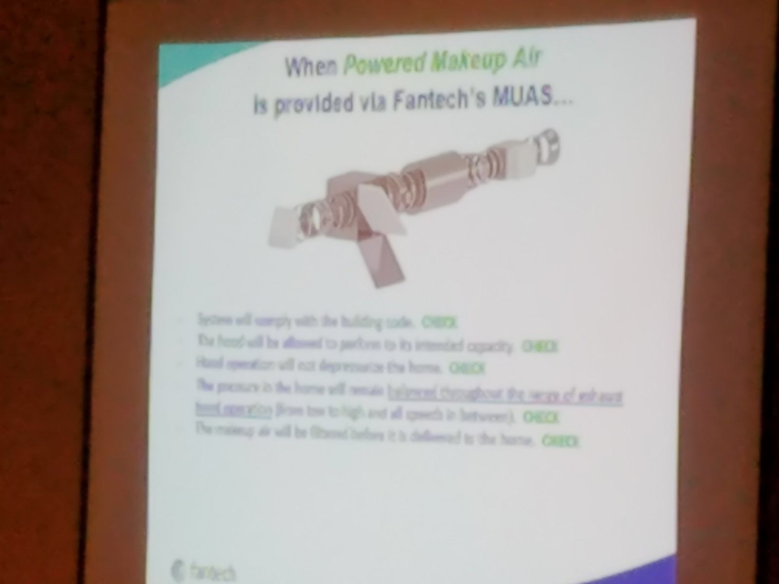 Fantech presentation at SEN Fall 2017 Conference