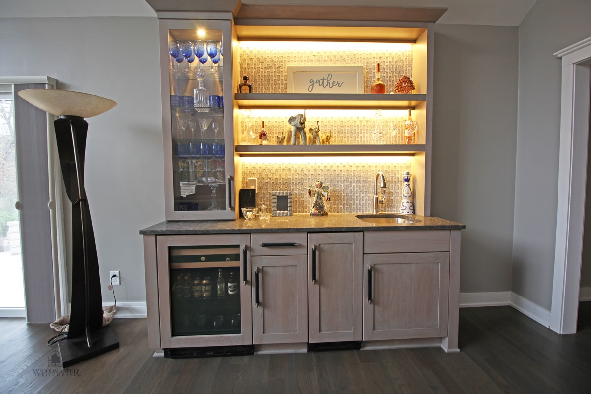 Why Choose Glass Front Kitchen Cabinets Woodmaster Kitchens