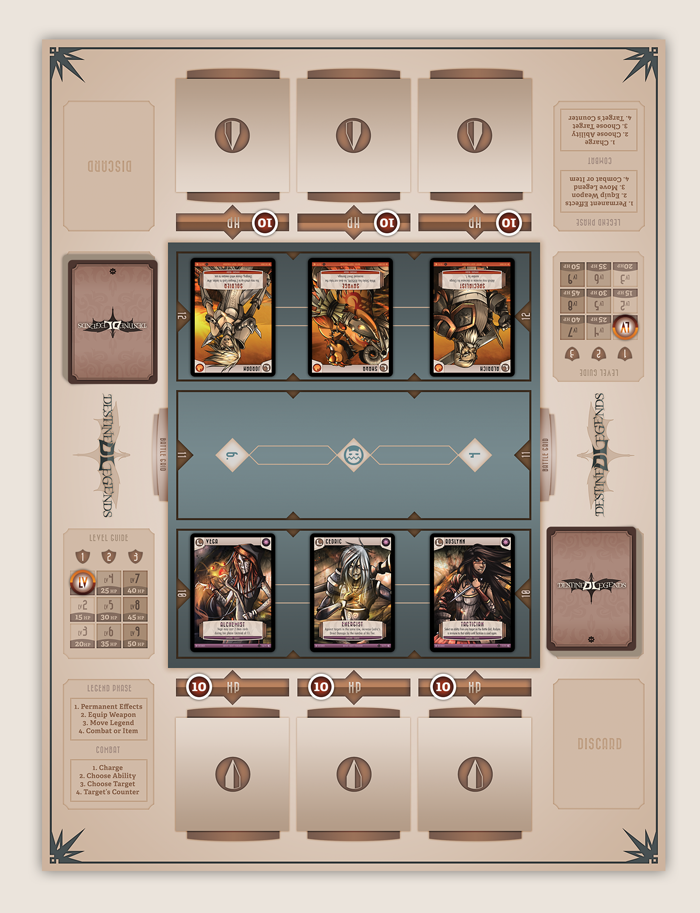 Yep, we just revealed the final Playboard design.