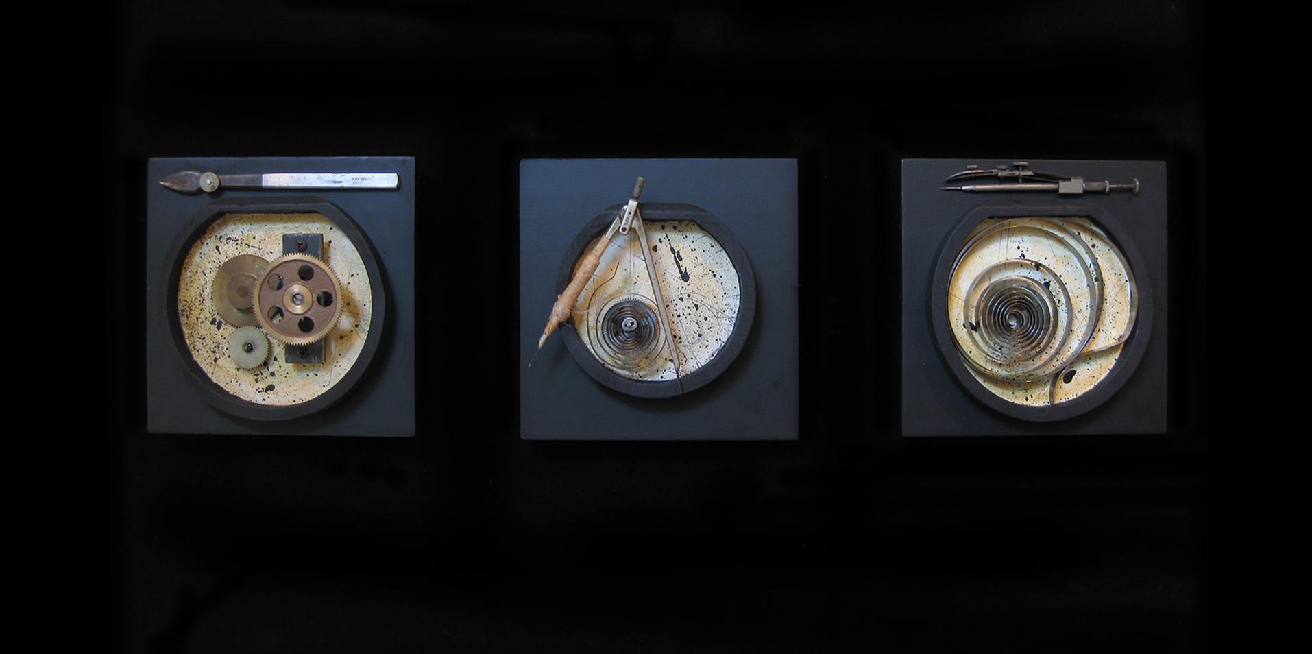 Galileo Triptych  SOLD