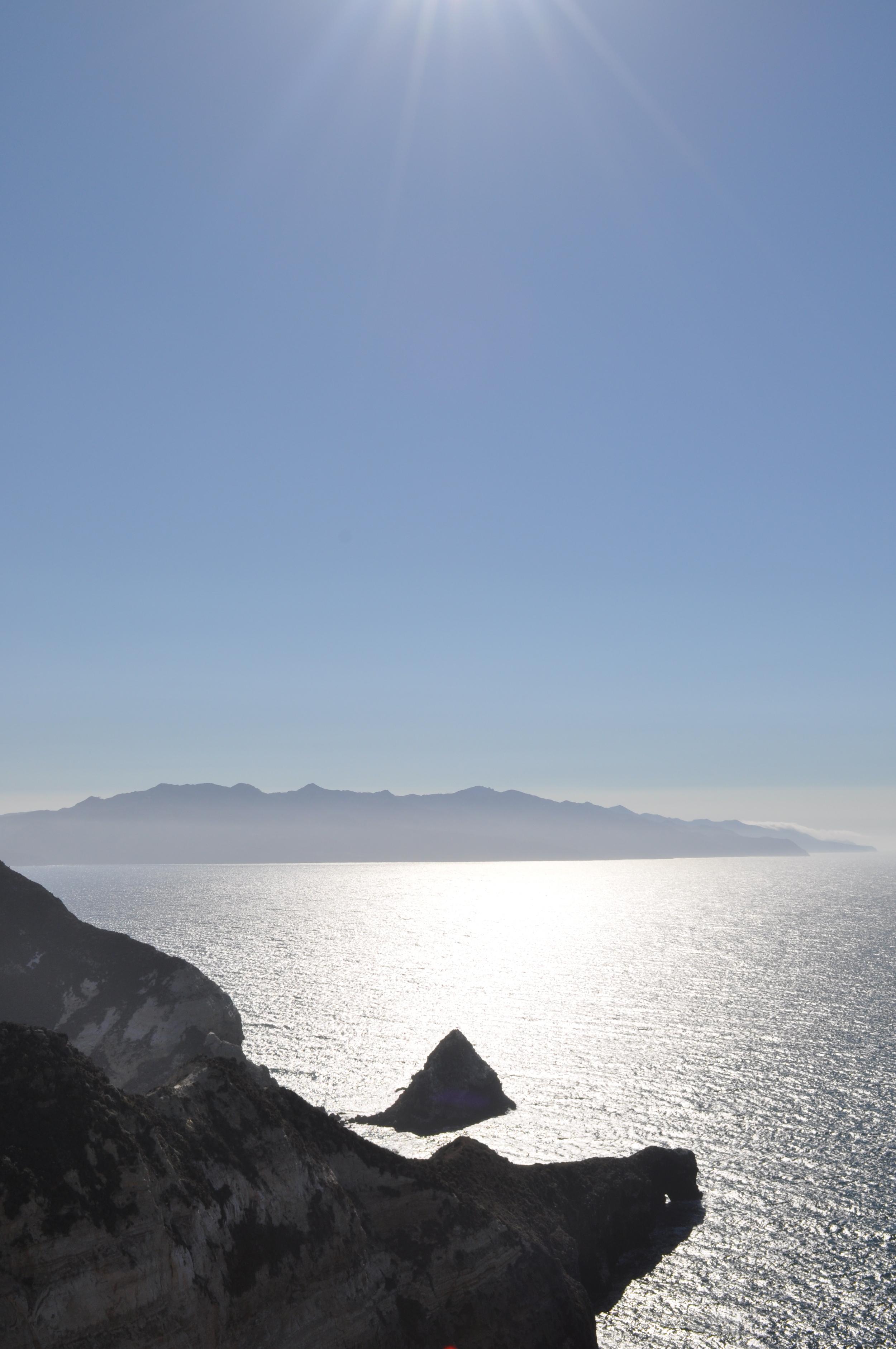 photo by Normandie Wilson view of Santa Cruz/Santa Rosa Islands
