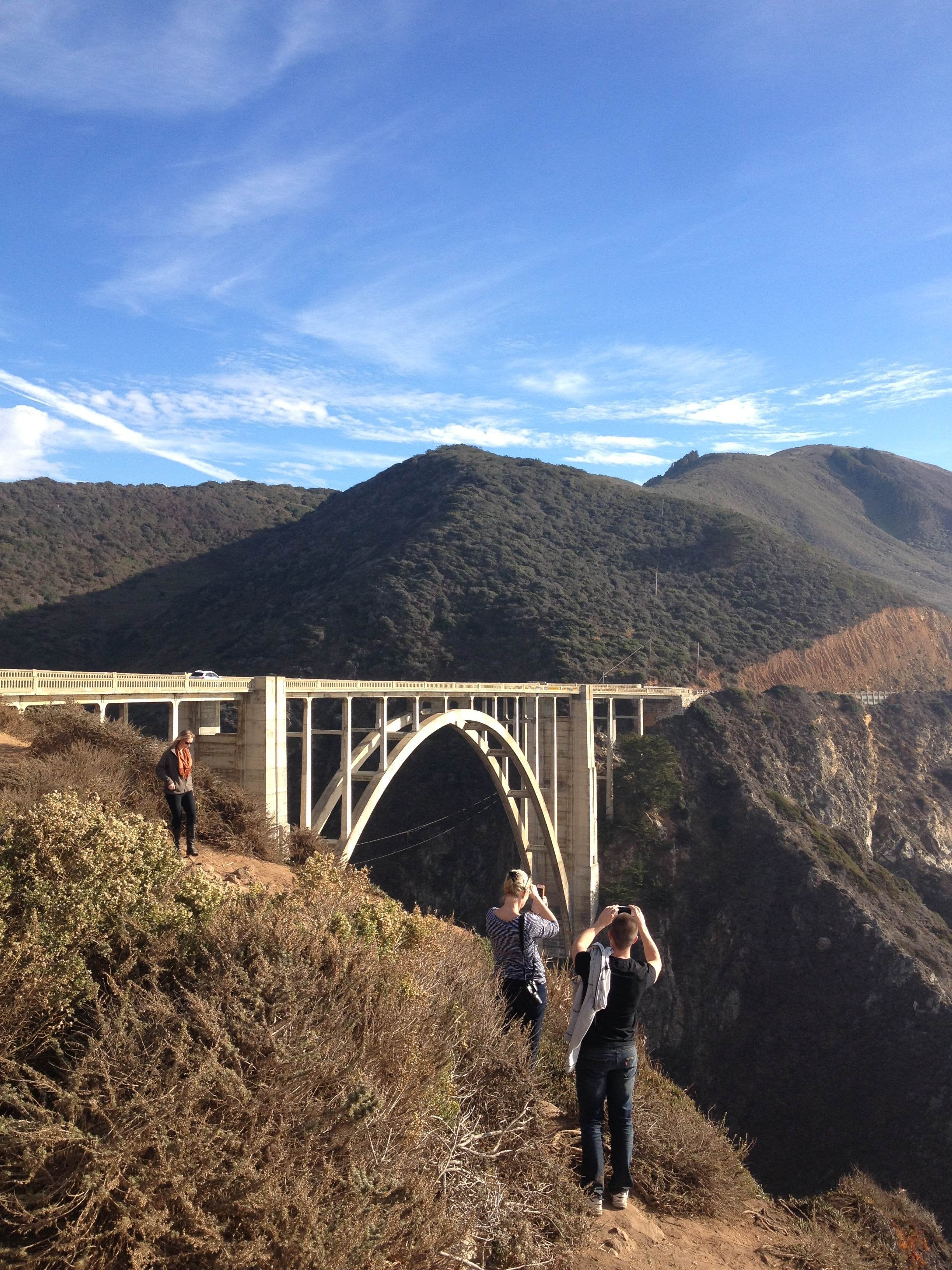 The famous Bixby Bridge