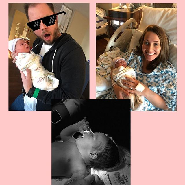 Welcome to the world, Mallory Elizabeth Hill. You've got an incredible set of lungs, your mama's luscious hair, and your father's beautiful lips. We are so proud of you already and love you more than you will probably ever know. I can't wait to tell you everything I've learned, starting with why Kentucky might be overvalued in this tournament. You are beautiful, curious, and loved. Hope you are ready for a lifetime of rolling your eyes at me like ya moms!  #baby #greatness #babygreatness