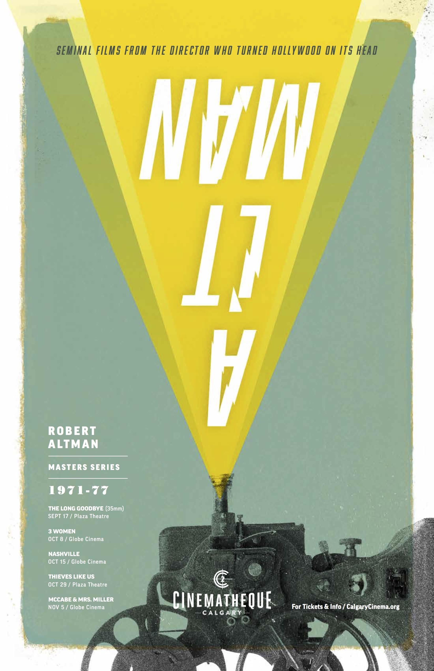 Robert Altman Master Series Calgary Cinematheque