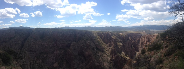 This is why I lived in Colorado for 5 years. SO beautiful. Royal Gorge, CO. August 9th, 2014.