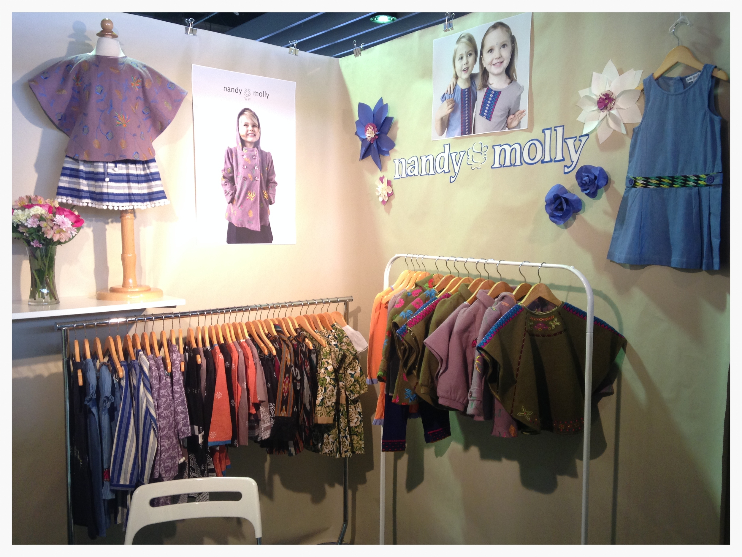 Our booth at ENK