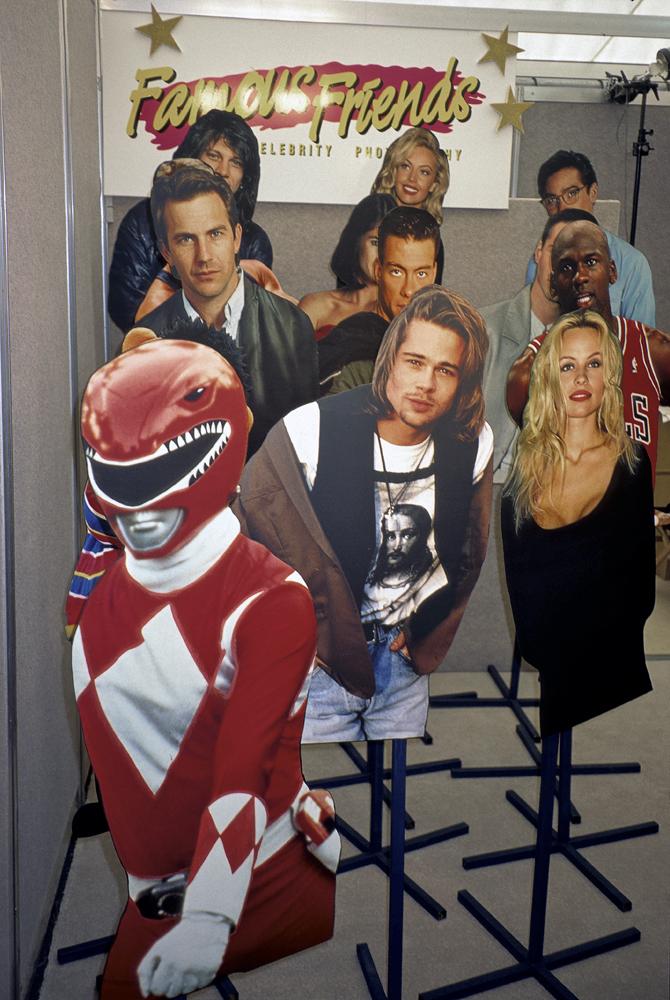 Famous Friends photography, Melbourne Show, 1995.jpeg
