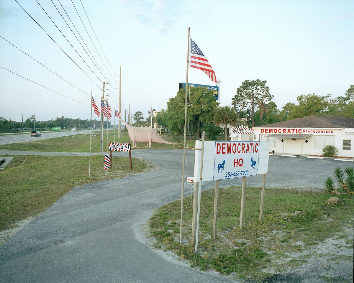Local Democratic Headquarters, Sping Hills, Florida....
