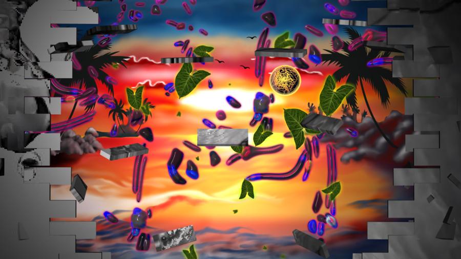 Single image from: Hector Llanquín,  Hercobulus Paradise, 2012, Digital Slideshow All images:   www.hectorllanquin.com/hercobulus/img/