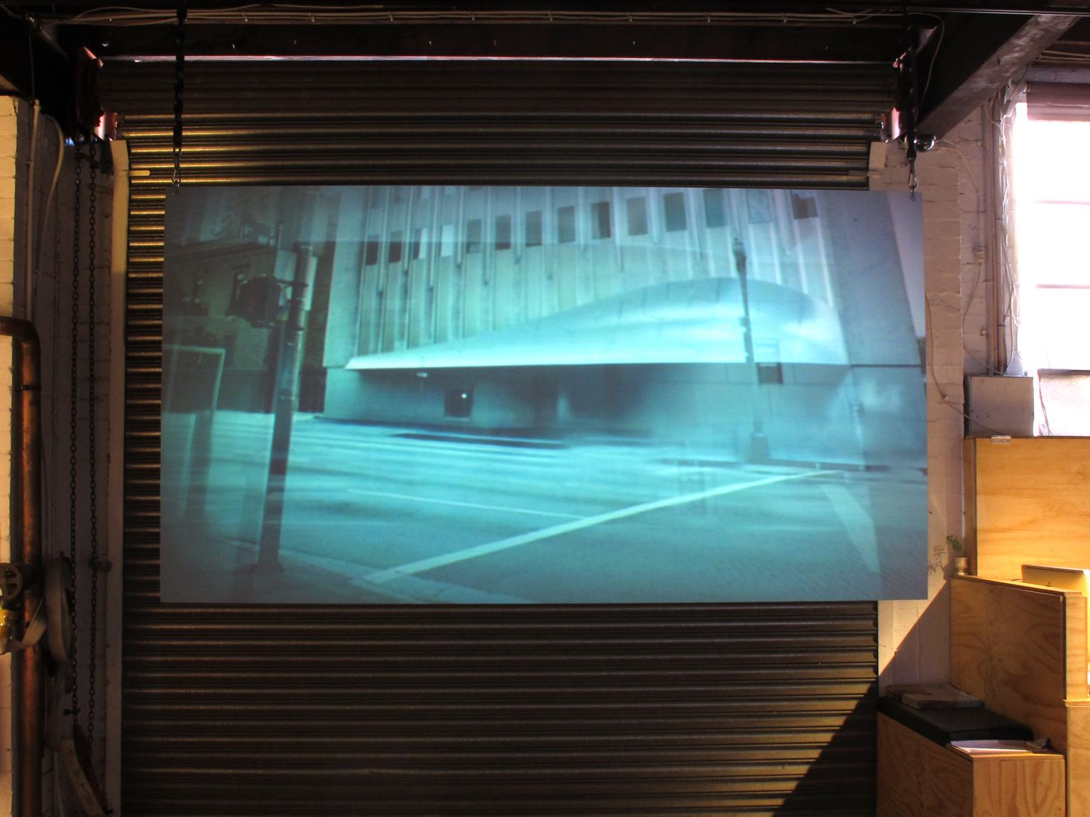 Zach Nader, Optional Features Shown, 2012, Digital Video, 2.10sec