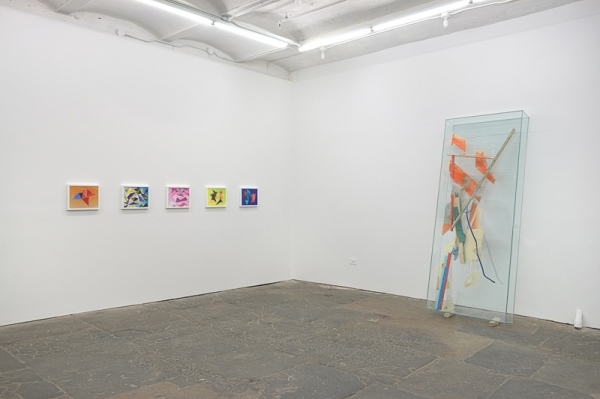 Installation View:  James Hyde & Jessica Labatte , Horton Gallery, Back Gallery