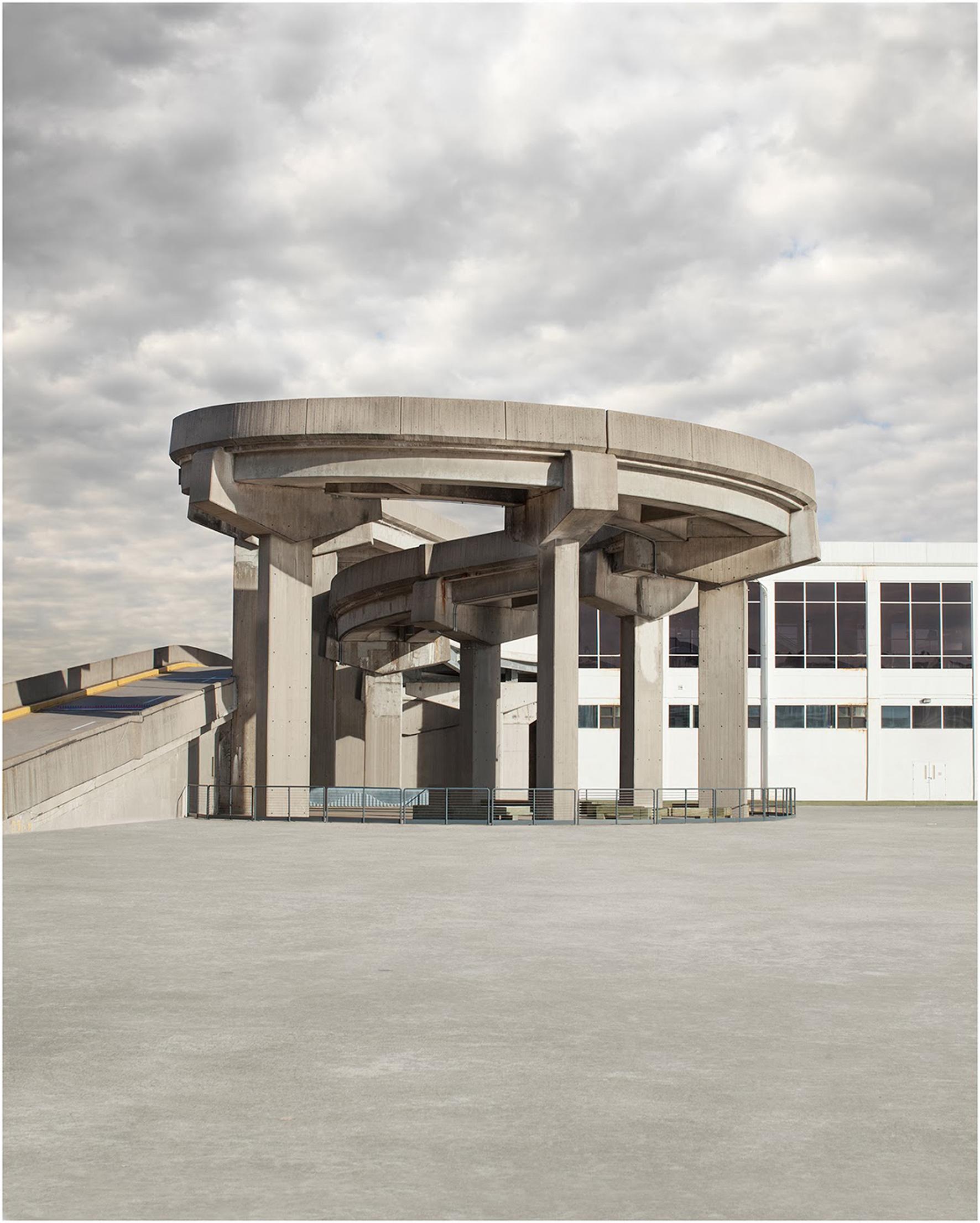 David Manley, Spiral Cement Structure, 2014