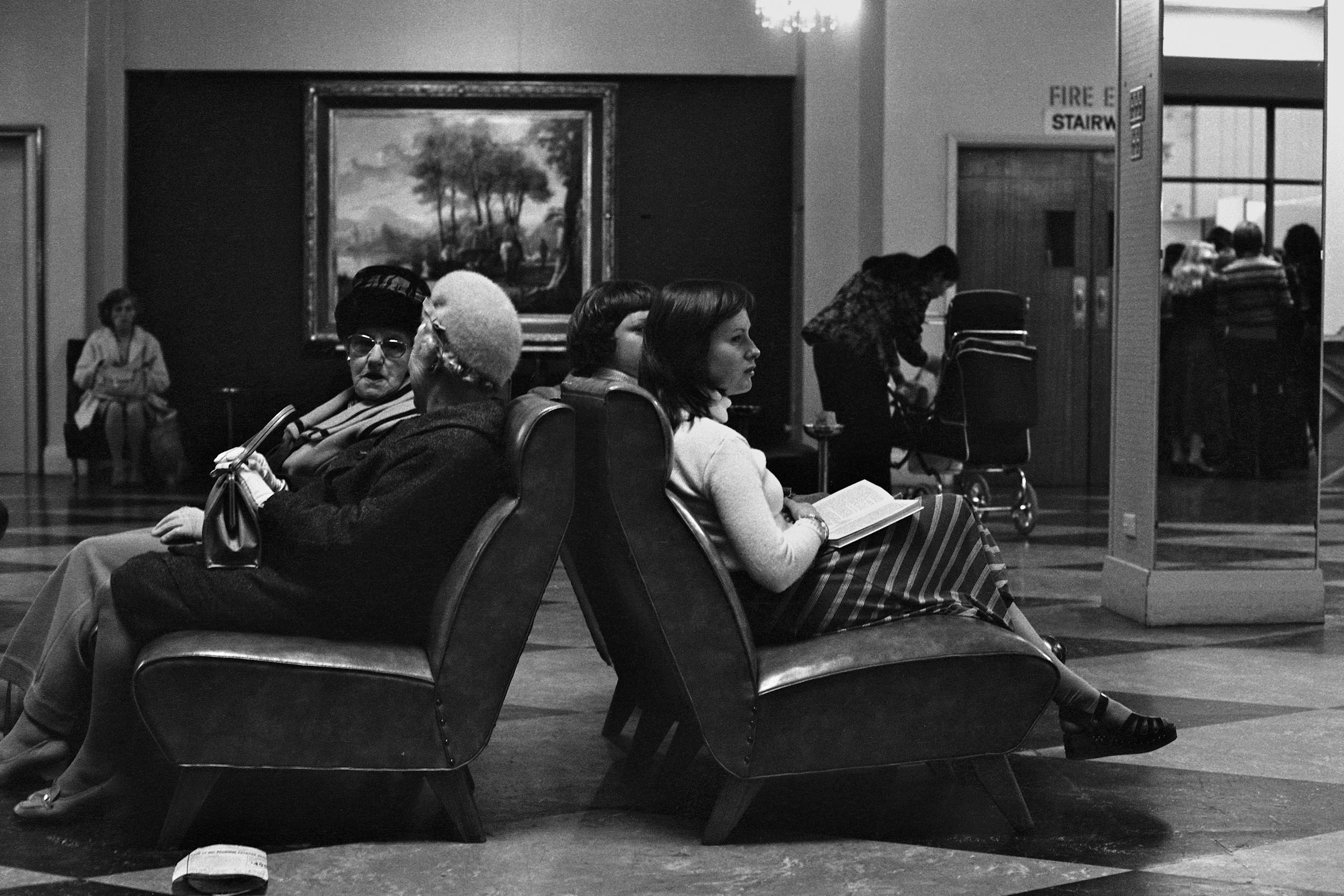 David Wadelton, Myer lady's lounge, 1976