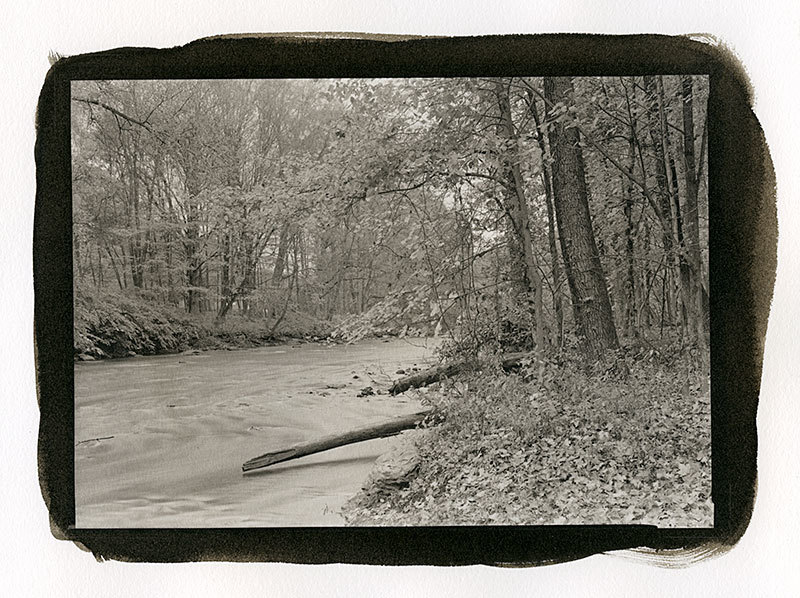 A photo I printed from a negative taken at another workshop.