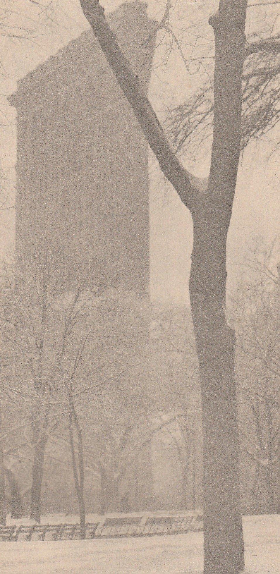 Alfred Stieglitz - The Flat Iron