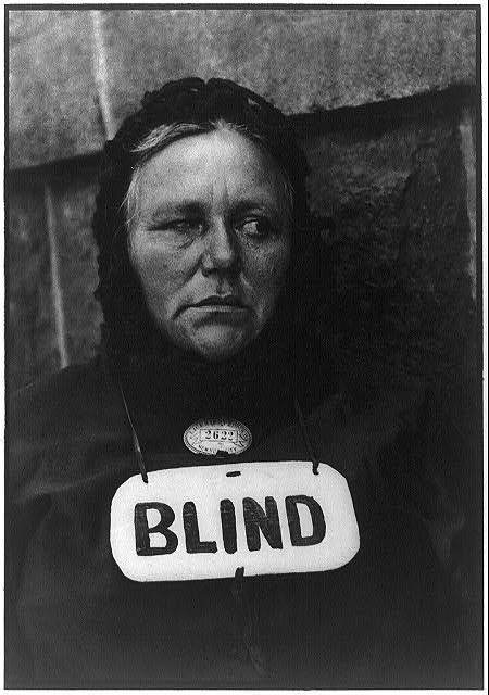 Paul Strand -  Blind Woman, New York