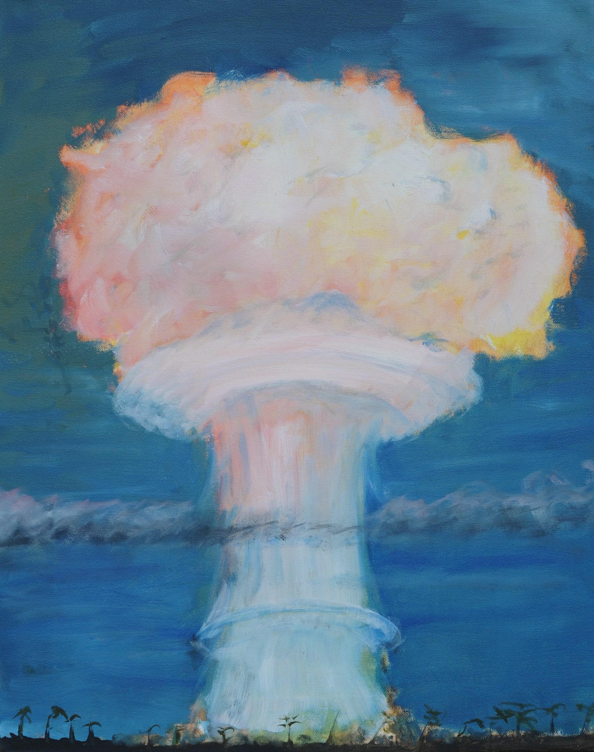 Mushroom Cloud at Christmas Island 1962