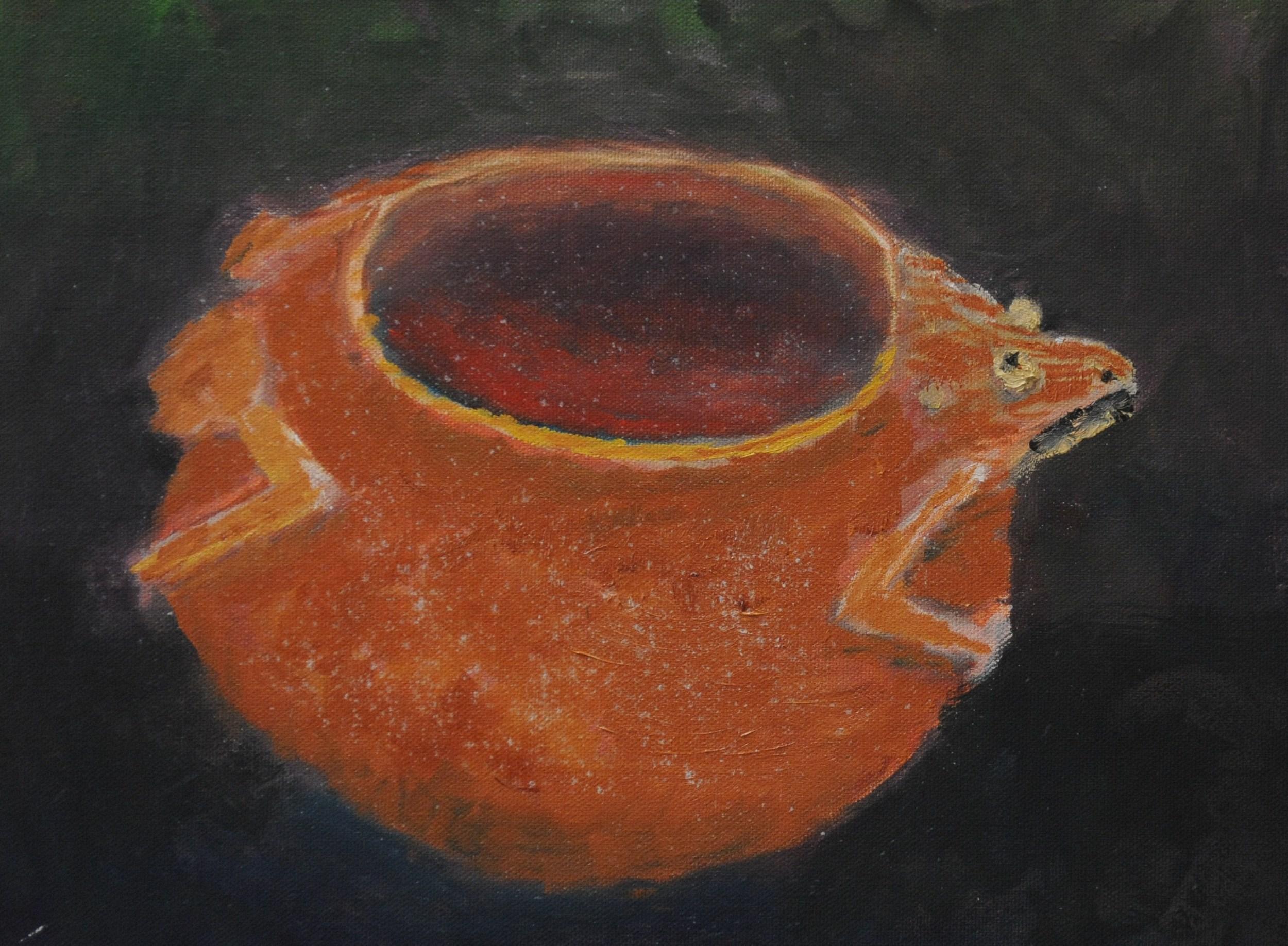 Frog Effigy Pot ca. 1200 A.D.