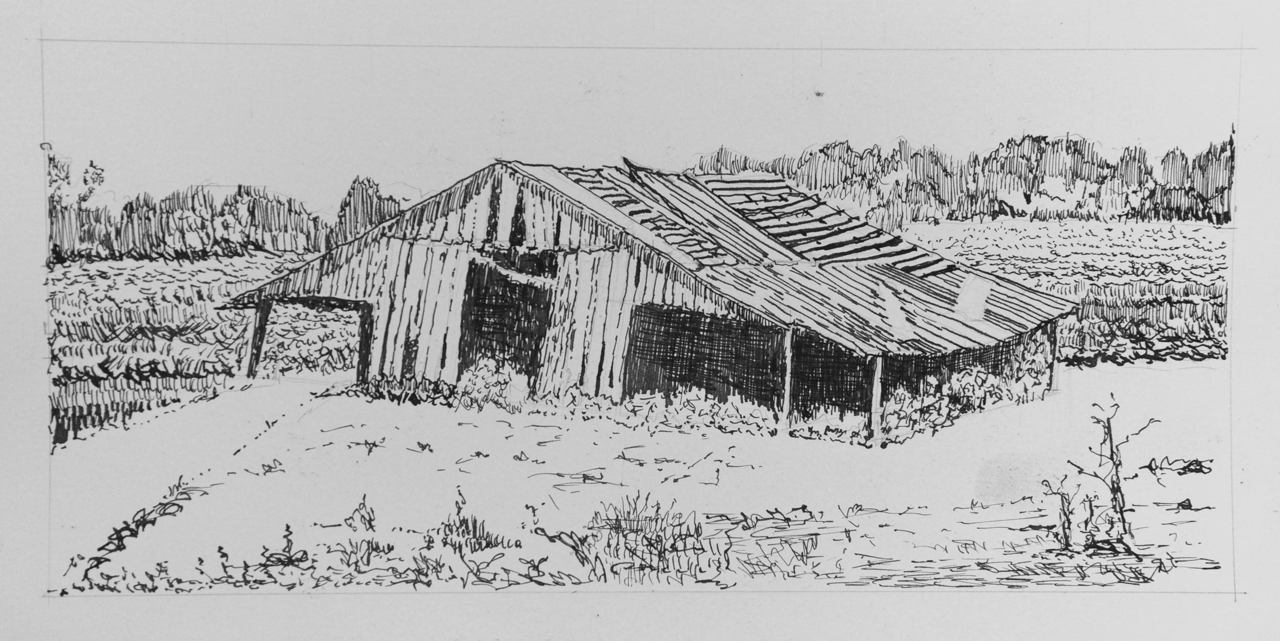 Old Barn Logan Co KY