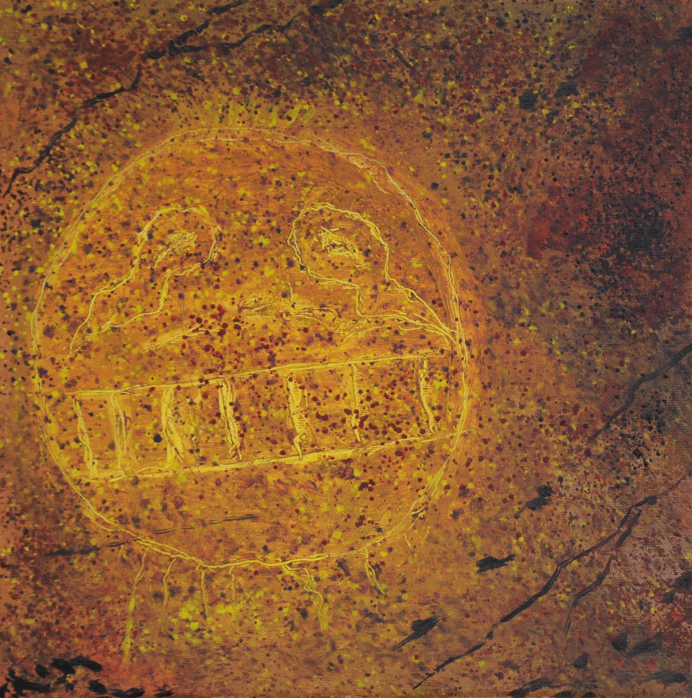 Cave Art, Cumberland Co., ca 1300 AD
