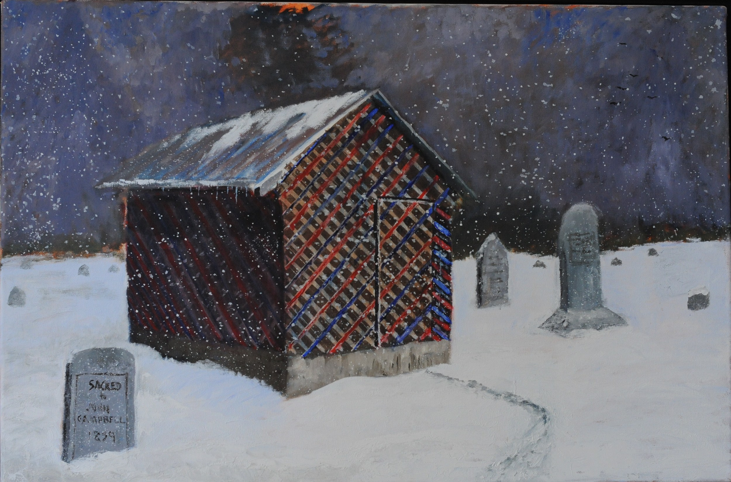 Gravehouse, Dickson Co.