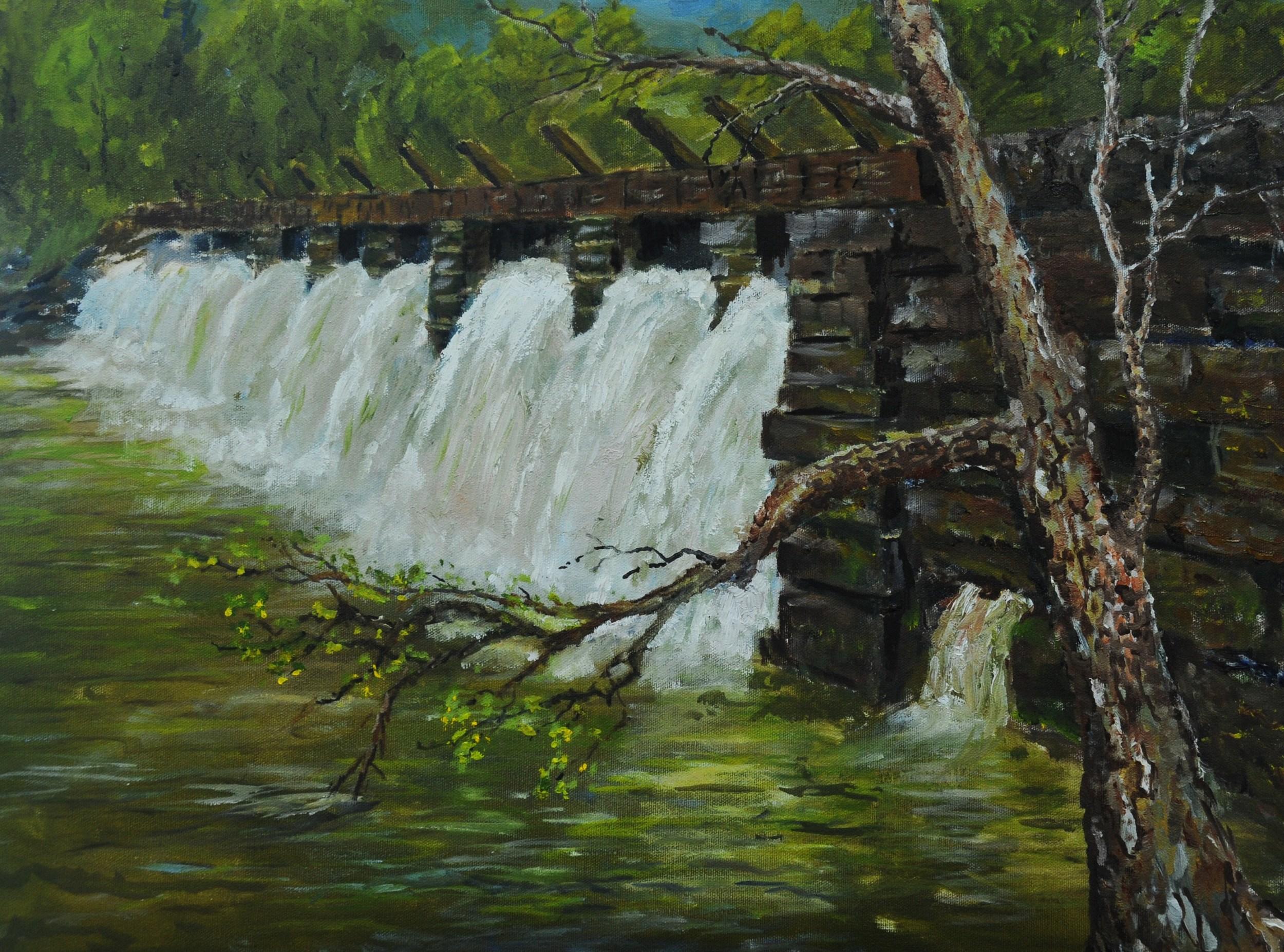 Shaddon Mill Dam