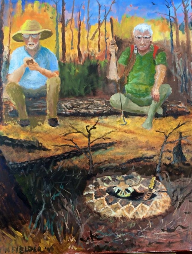 Two Guys and a Rattlesnake