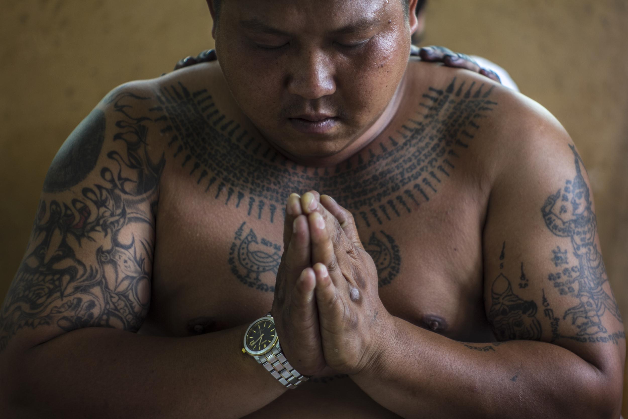 Prayer before possession