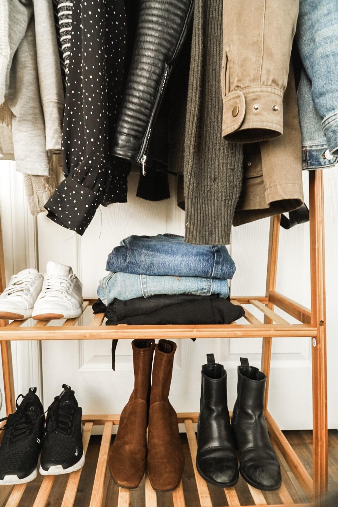 how to capsule wardrobe hikari blogger