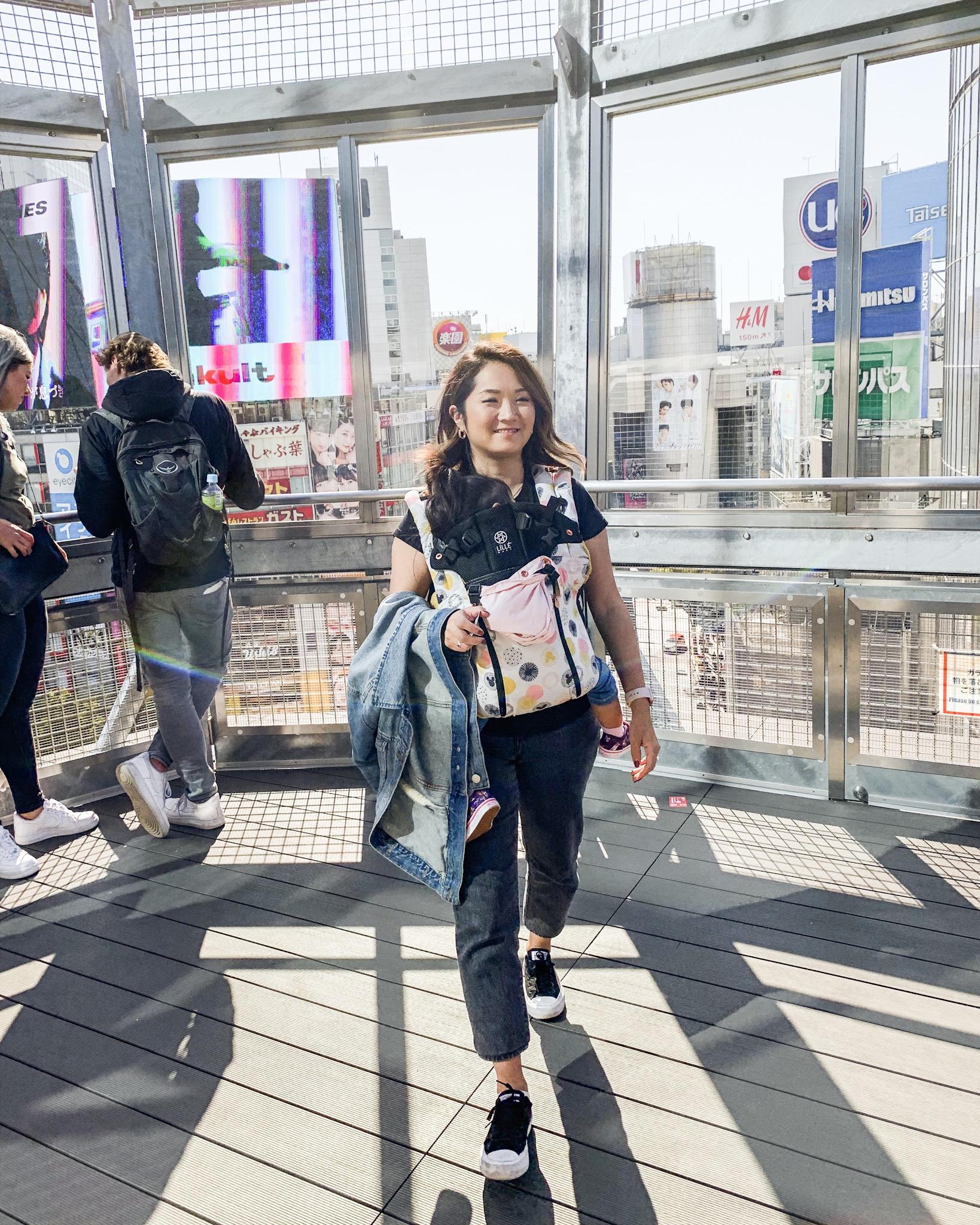 shibuya crossing with kids japan travel blog