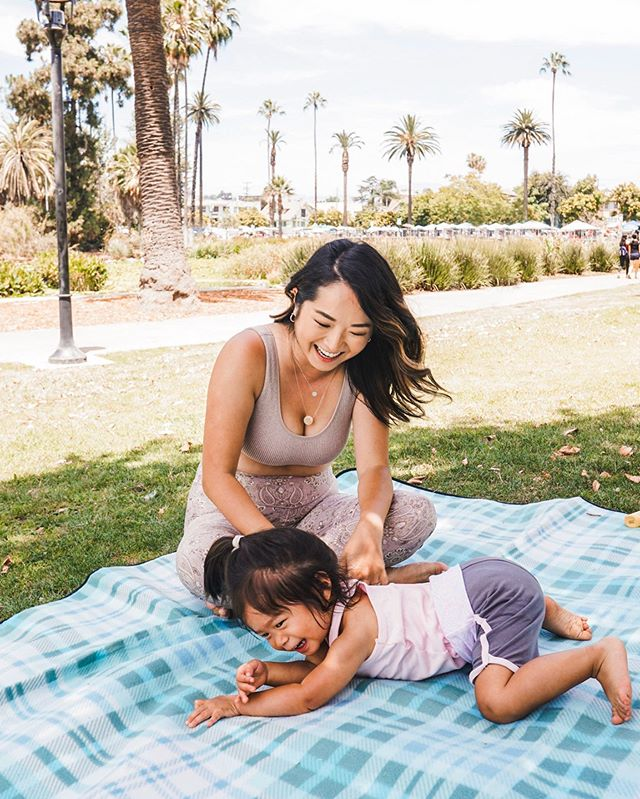 "✨2 years being a mom. 2 big lessons learned✨ ⠀⠀⠀⠀⠀⠀⠀ I don't think I talk enough about how motherhoods built me up and made me stronger.  In motherhood there's no promotions or raises. You're mom and always will be. YOU have to do the looking back and reflecting, see where you've grown and see where you can grow.  With my birthday around the corner, and it also being my 2nd momversary, here's 2 things I've learned: ⠀⠀⠀⠀⠀⠀⠀ 1. Taught me what's really important in life. It's not about having money. It's not about being in the best shape possible. It's really about being happy and at peace with where you're at. It's about the relationship you have with yourself and those around you. ⠀⠀⠀⠀⠀⠀⠀ 2. Put your blindfolds on and you do you. Appreciate what you have and you do what's best for you and your family. I can't count how many times I've compared myself to other families and felt like crap because I ""didn't have what they (seemingly) had"". I think we ALL struggle with this. And even though I still struggle with this, I've become more aware of when I compare. I catch myself and do my best to appreciate what I have and keep on doing me.  Share with us something positive you've learned through motherhood below! And if you're not a mom, what's something you look up to in YOUR mom?"