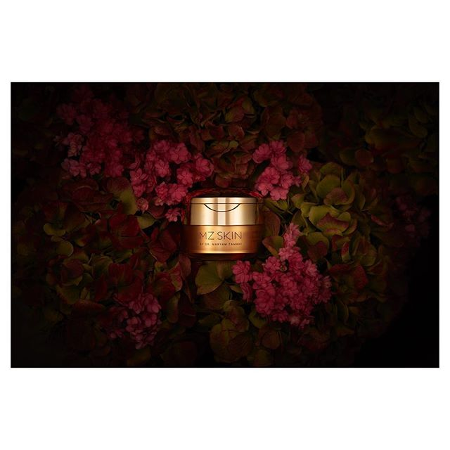 Pot of Gold // Always a joy shooting with @inkvalley for @mzskinofficial @drmaryamzamani #stilllife #beauty #skincare