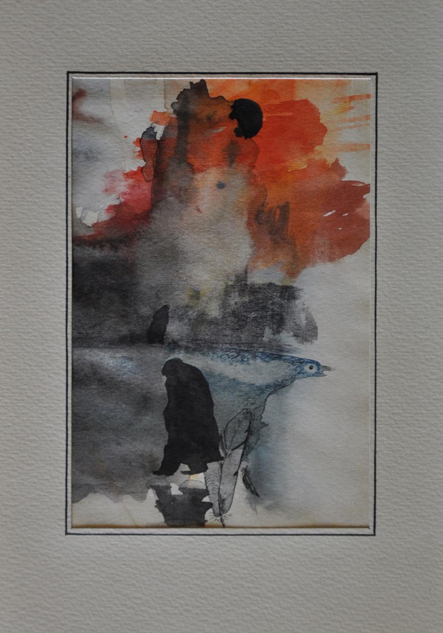 V.F. 1985. 20 x 30. Aquarelle.