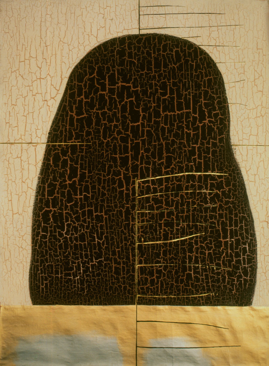V.F. 1988. 170 x 120. Canvas, acrylic, oil.