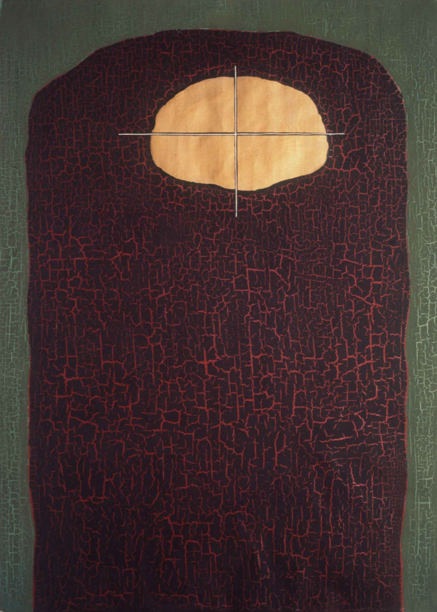 V.F. 1988. 190 x 140. Canvas, acrylic, oil.
