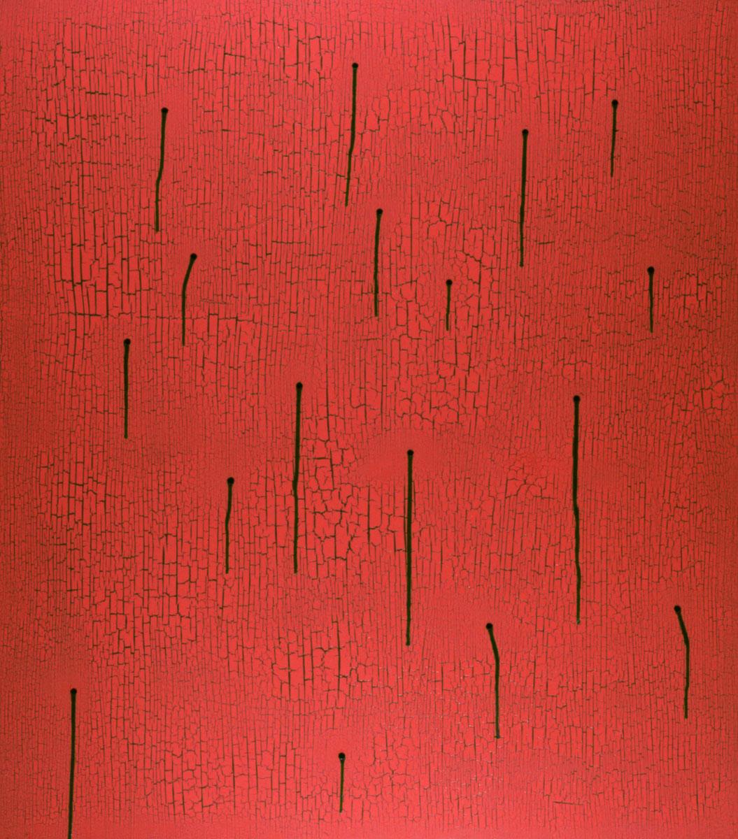 V.F. 1990. 150 x 120. Canvas, acrylic, oil.