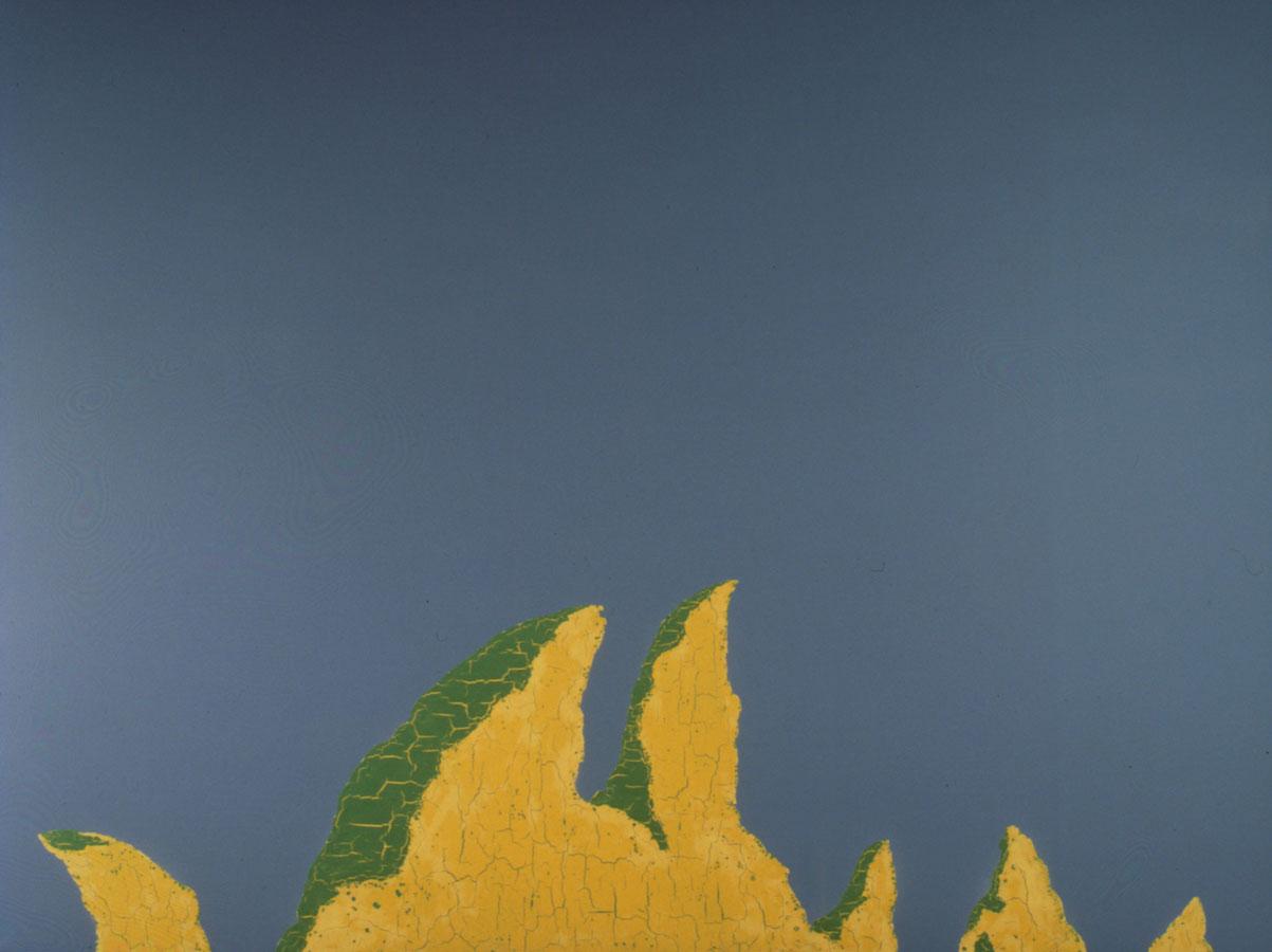 V.F. 1991. 140 x 160. Canvas, acrylic, oil.