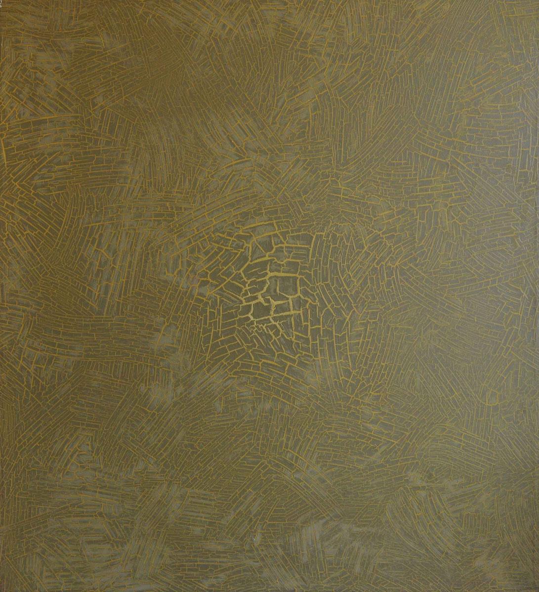 V.F. 1993. 100 x 90. Canvas, acrylic, oil.