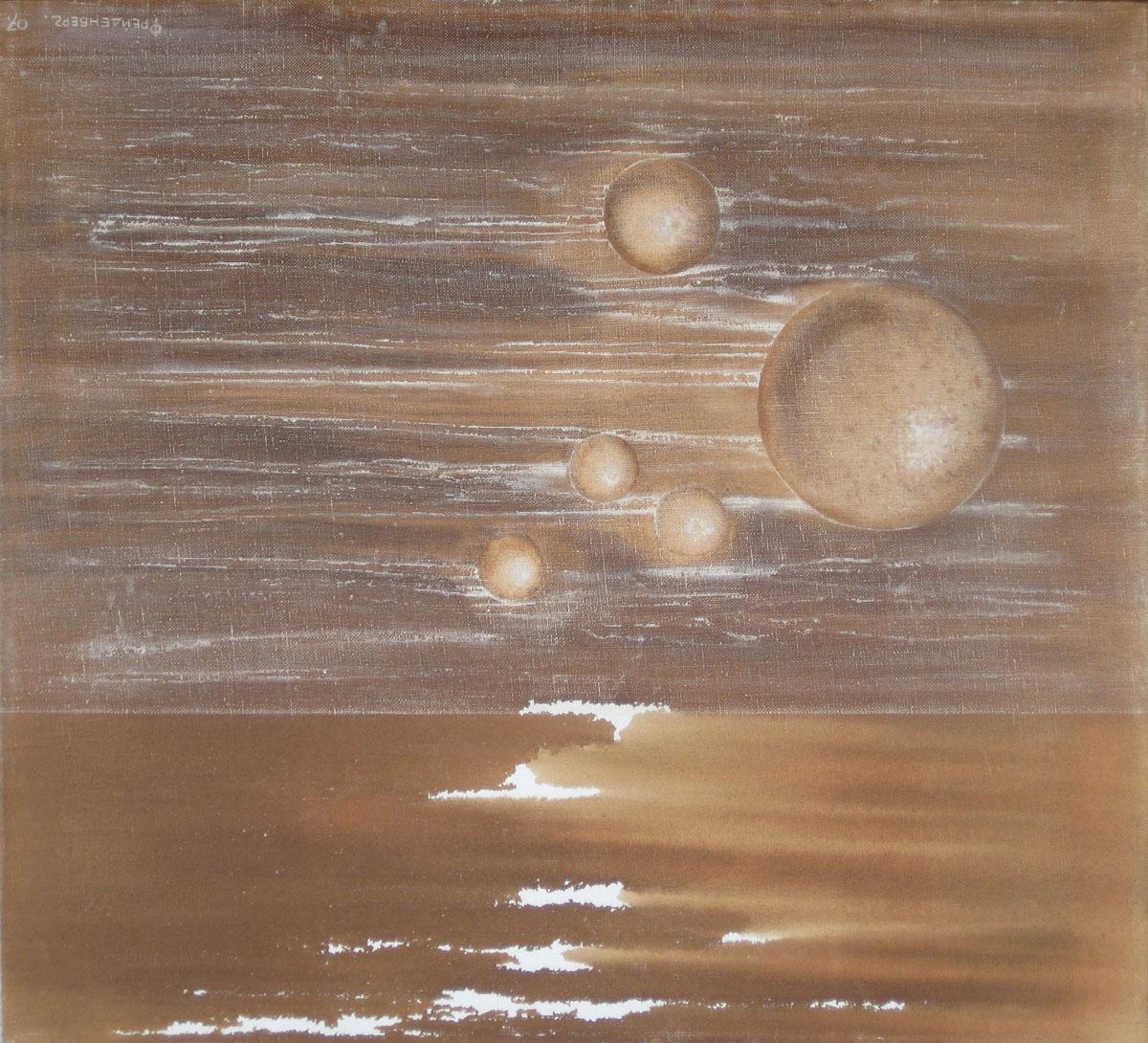 V.F. 2006. 100 x 90. Canvas, oil.
