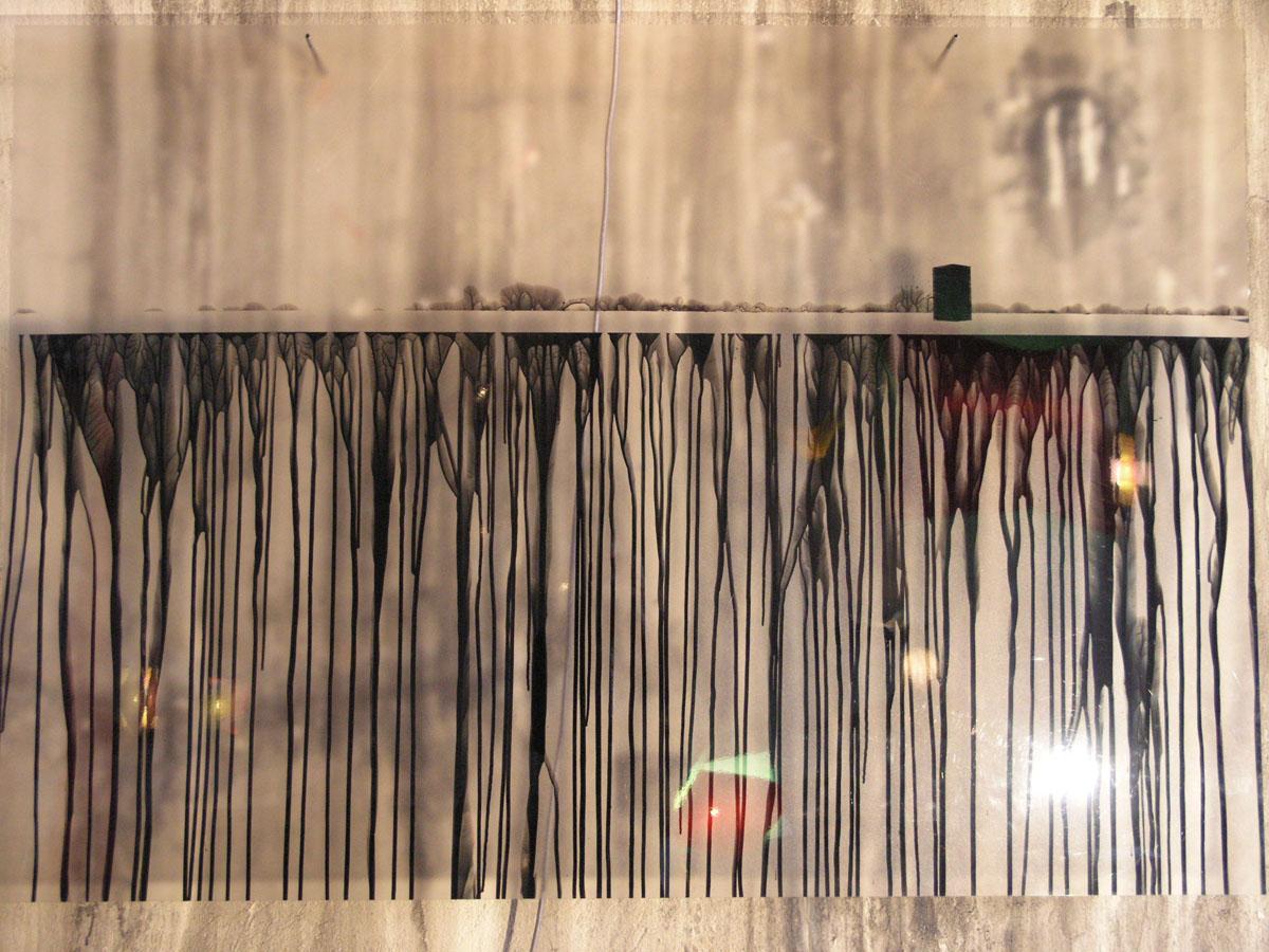 V.F. 2007. 140 x 100. Translucent plastic,lacquer.