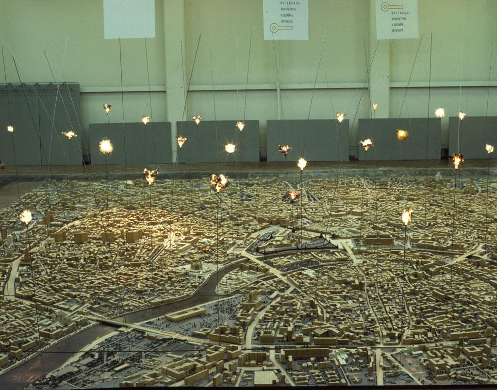 2001 г.— «Город - сад» (3-й международный фестиваль архитектуры и дизайна интерьера, Дом градостроительства, Москва)