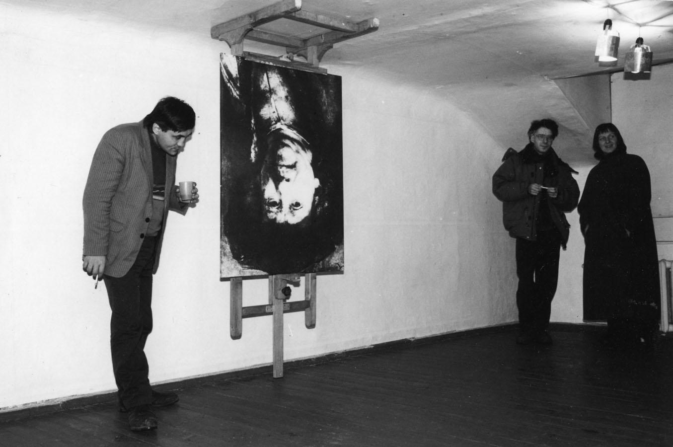 1993 г. — «Переворот в искусстве» (Галерея в Трёхпрудном переулке,Москва)