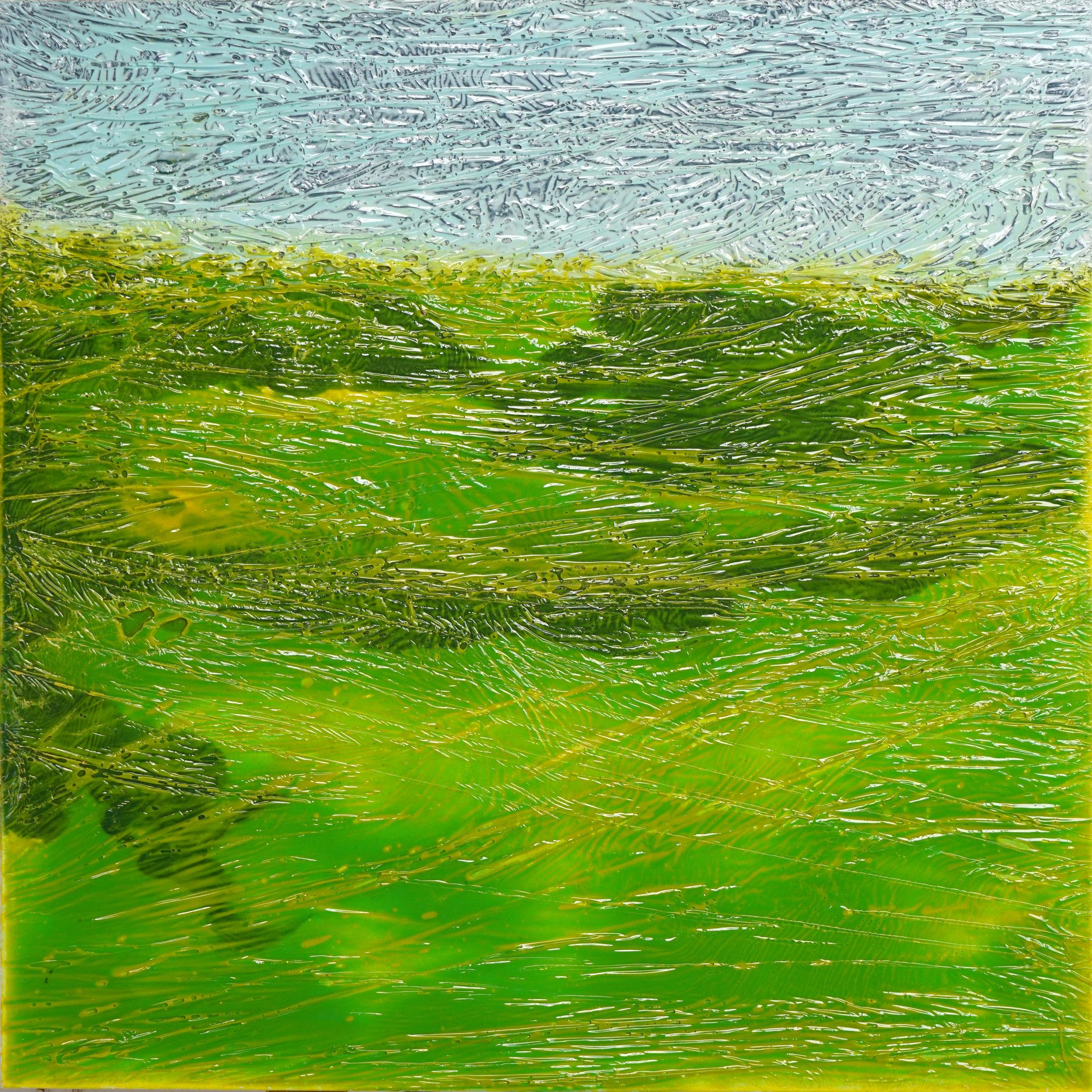 FREYDENBERG.V Синтетический пейзаж №7. 2017. Xолст, полимерная смола. 70х700