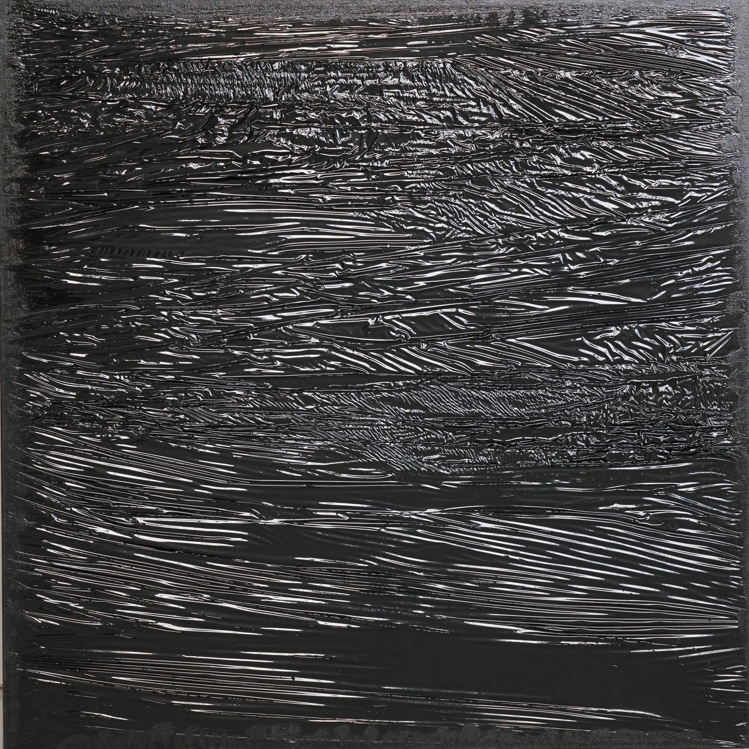 FREYDENBERG.V Синтетический пейзаж №14. 2017. Xолст, полимерная смола. 70х70см