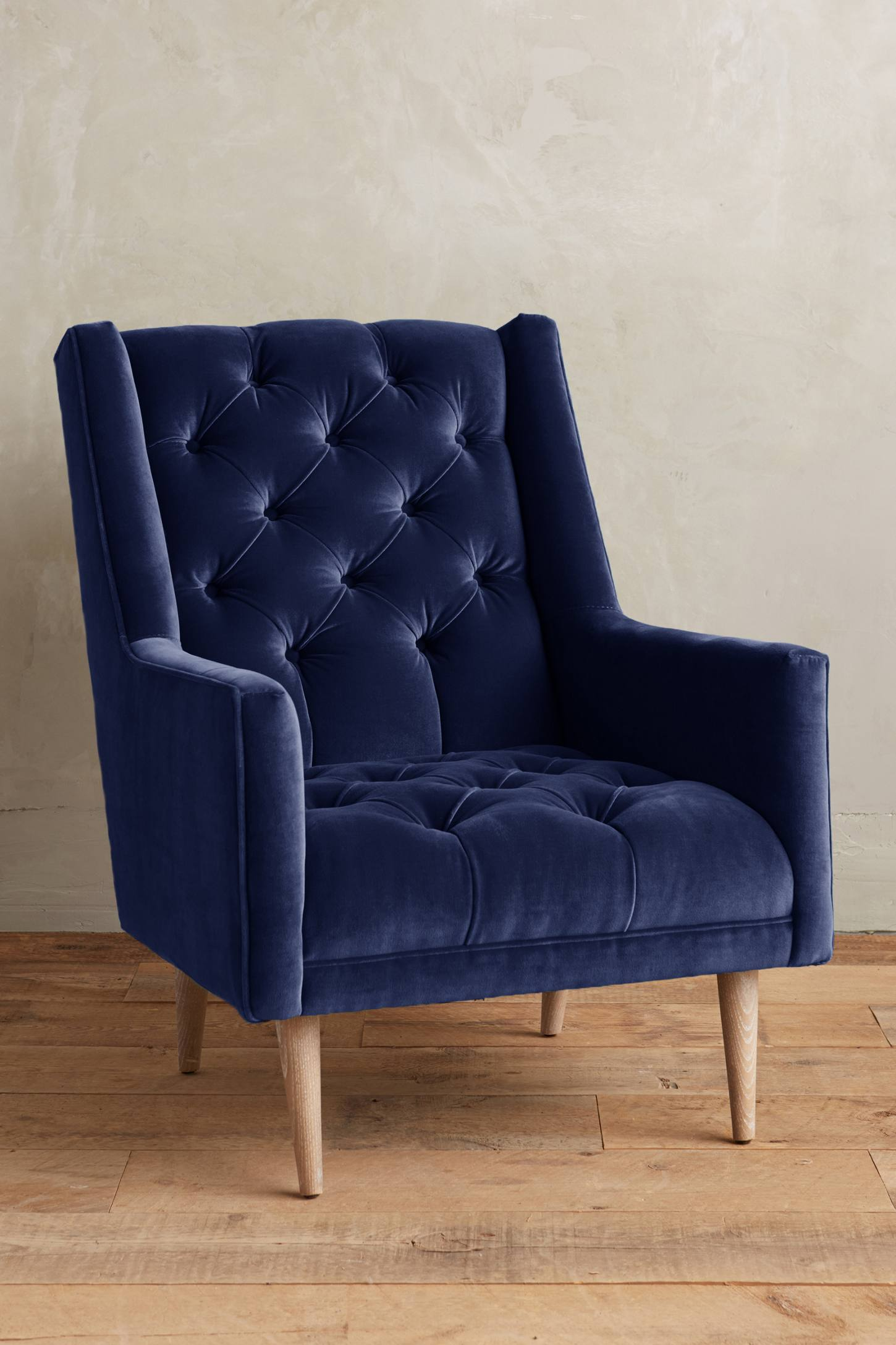 A timeless, cozy, well-made chair. (Booker Chair, Anthropologie)