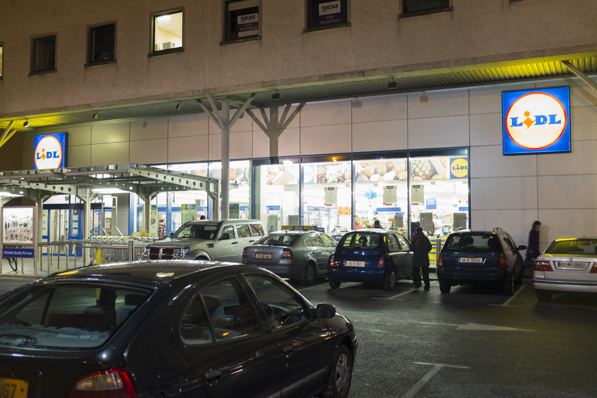 Lidl, an amazing German grocery somewhere between Aldi and Ikea.