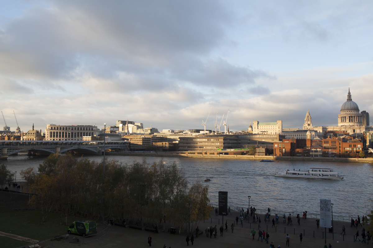 St. Pauls across the river from the Tate.
